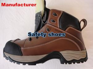 China cheapest Men's steel toe safety shoes  Cow split leather safety shoes safety boots on sale