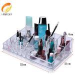 China Luxe Acrylic Modular System Luxury jewelry acrylic makeup case drawer wholesale