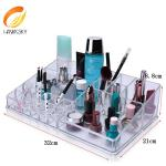 China Luxe Acrylic Modular System Luxury jewelry acrylic makeup case drawer wholesale