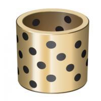 C95400 Aluminum Bronze Bushing , Oilless Sliding Cast Bronze Bushings MISUMI MPTZ20 28 25 33 30 38