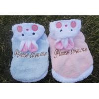 Pet Jumpsuits Light Blue / Pink color , Lovely Rabbit Style medium dog shih tzu clothes