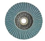 Zirconia Alumina Flap Disc GRINDING WHEELS-TYPE 27 Abrasive Blaze R980P Coarse Grit Center Mount Plastic Flat Flap Disc