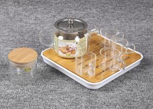 China Christmas Gift Tea Infuser Set Heat Resistant Borosilicate Tea Cup Infuser Set on sale