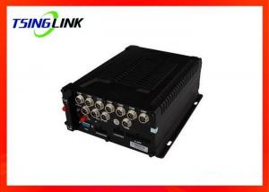 China 8-36V 4G Wireless HD Vehicle Mobile DVR 4 Channel With SD Card ESATA supplier