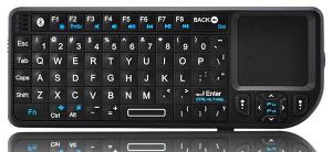 China Mini Wireless Bluetooth Keyboard-Features Builtin Touchpad Mouse Backlit Display on sale