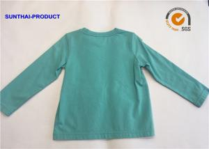 China Classic Childrens Long Sleeve T Shirts , Toddler Cotton T Shirts For 2 - 12 Size on sale
