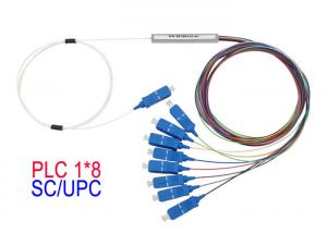 China UPC Fiber Optic PLC Splitter Mini Module 1650 Operting Wavelength Max on sale