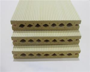 China Anti-UV WPC Composite Decking Boards Anti-insect With Hollw Section Board on sale