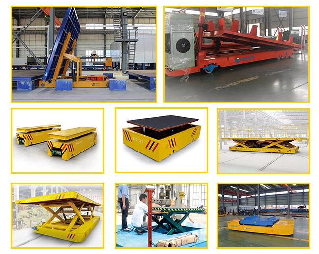 Portable Lifting Platform uses in factory warehouse cargo transportation with lifting equipment