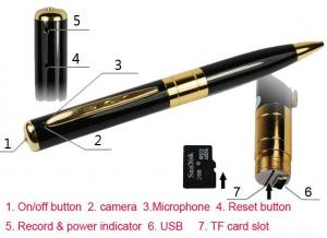 China A9security spy dvr pen camera on sale