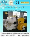 Serie de poco ruido de la máquina de fabricación de cartón de Safty PYQ de cortadora que arruga