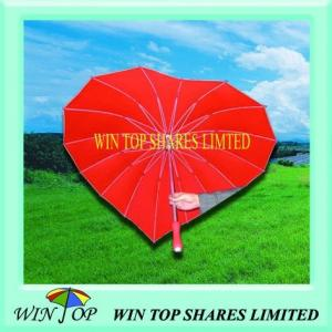 China heart shape umbrella on sale