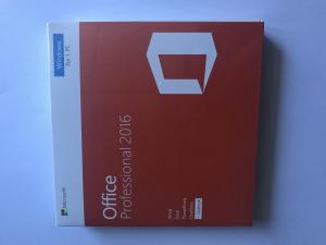 China Microsoft Office Product Key Card Standard DVD Retail Pack Office 2016 Pro Key Activation Online on sale