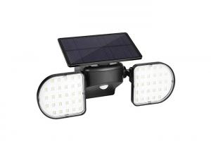 China Square Dual Head Rotatable 56 LED Solar Garden Wall Lights With Motion Sensor on sale