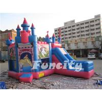 Princess Theme Inflatable Bouncy Castle Combo for Kids