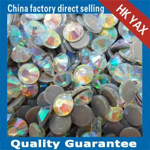 China YAX Swainstone New Arrival High Quality crystal stones ab color,ab color crystal stones for bags shoes on sale