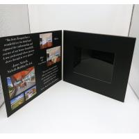 7 Inch Europe Style Lcd Video Card / Laser Cut Wedding Lcd Invitation Card