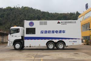 Electric Ambulance Diesel Engine Power Plant 640kva 512kw Large