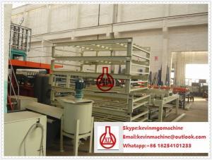 China No cadena de producción del tablero del cemento de la fibra de amianto con una capacidad más grande 2000SQM on sale