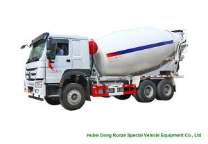 China Howo Concrete Mixer Truck For Cement Transportation 10cbm Right Hand Drive on sale
