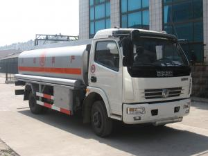 China Dongfeng 4*2 6000 liters oil tank fuel tanker trucks for sale on sale