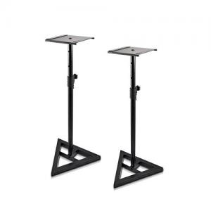 China Studio Monitor Speaker Stand Height Adjustable Pair DGS001 960mm -1300mm Height on sale