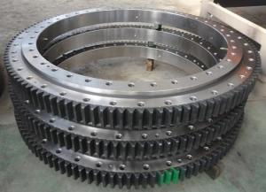 China 50Mn, 42CrMo Cheap hot sale High quality Custom excavator slewing bearing on sale