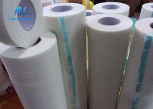 China 100mm Wide Self Adhesive Mesh Drywall Tape , Huili Self Adhesive Scrim Tape on sale