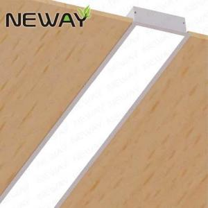 China Linear Recessed Fluorescent Ceiling Light Fixture LED Recessed Fixture Recessed Wall Wash Architectural Linear Fixture on sale