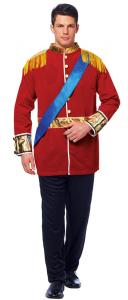China Wholesale Adult Sexy Prince Costume Uniform Suit Outfit Men Cosplay halloween fancy dress on sale