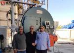Industrial 10T High Efficiency Gas Boiler Fire Tube Boiler Use In Sugar Factory