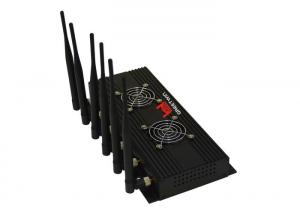 China 3G GPS Phone Signal Blocker Jammer Omni Antennas 1500MHz 1200MHz on sale