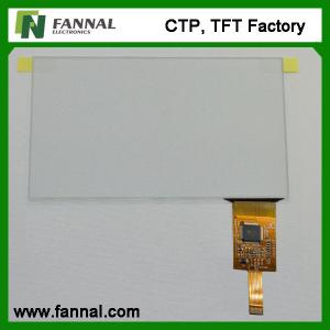 China G+G Structure Multi-touch 7 Projected Capacitive Touch Panel With USB Interface on sale