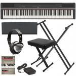 China Yamaha P125 88-Key YAMAHA P-125 DIGITAL PIANO - BLACK KEY ESSENTIALS BUNDLE wholesale