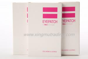China Collagen Gel Eye Pads Masks with Hyaluronic Acid customize shape on sale