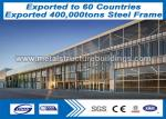 Long Life Q235 Q345 Steel Fabricated Buildings Famous Steel Structures