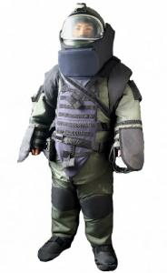 China 32.7Kg EOD Bomb Disposal Suit With Spine / Neck / Chest Protection Flamer - Resistant on sale