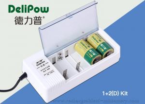 China 2 D5000mAh Rechargeable Battery Kit With Multi - Functional Design on sale