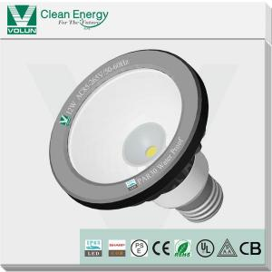 China Waterproof COB LED PAR30 spotlight SAA, UL, CB CE, RoHS approved with IP65 testing report on sale