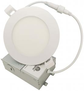 China 4 Inch 5 Inch 9w 15w Round Ceiling LED Panel Light / Dimmable Led Ceiling Panels on sale