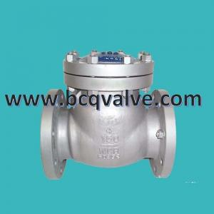 China ANSI Carbon Steel CLASS150  WCB RF Flanged Swing Check Valve on sale