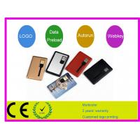 China Promotion gift Credit Card USB drive memory ​AT-045A with 1G 2G 4G 8G 16G  on sale