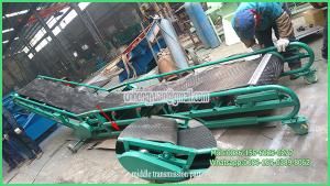 China unloading granules materials from the ship used truck unloading belt conveyor on sale