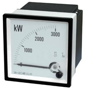 China 3 Phase 4 Wire Wattmeter on sale