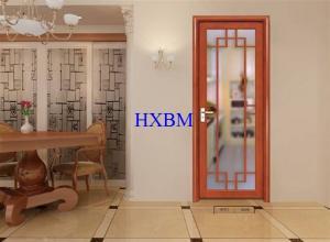 China Home Builders Aluminium Clad Wooden Doors on sale