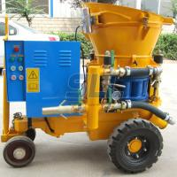 China Concrete Shotcrete Machine Is to Compressed Air Economy Cost and Flexibility for Tunneling on sale