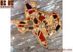 Texas Wall Art collage mosaic crafted handmade wooden wall art for decor