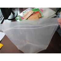 Plastic Clear Stand Up Zipper Pouch Bags General Purpose Oxygen Resistance