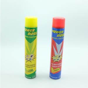 China Power boss Aerosol Insecticide Spray with best quality on sale