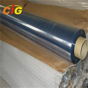 China Clear Flexible PVC Sheet PVC Film Roll With 0.06mm-0.5mm Thick For Packing Bag Use on sale